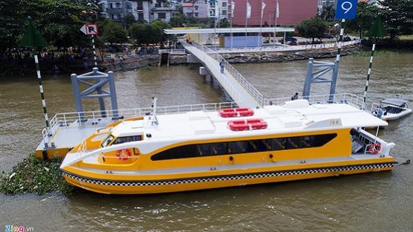 Bên trong tàu buýt sông đầu tiên ở Sài Gòn